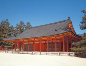 登録文化財 平安神宮 儀式殿(神楽殿)